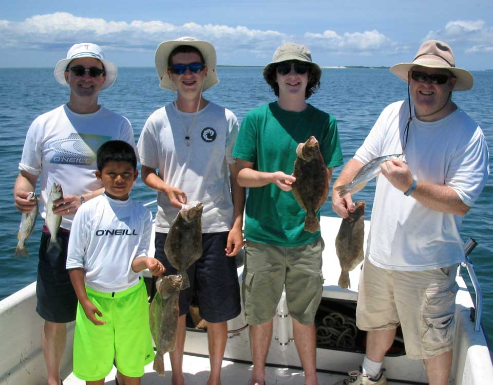 Outer banks fishing report summer flounder and bluefish for Obx fishing report