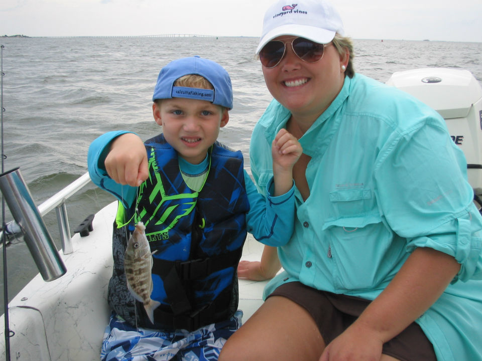 Outer Banks family fishing charter