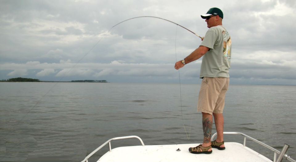 Outer Banks fly fishing