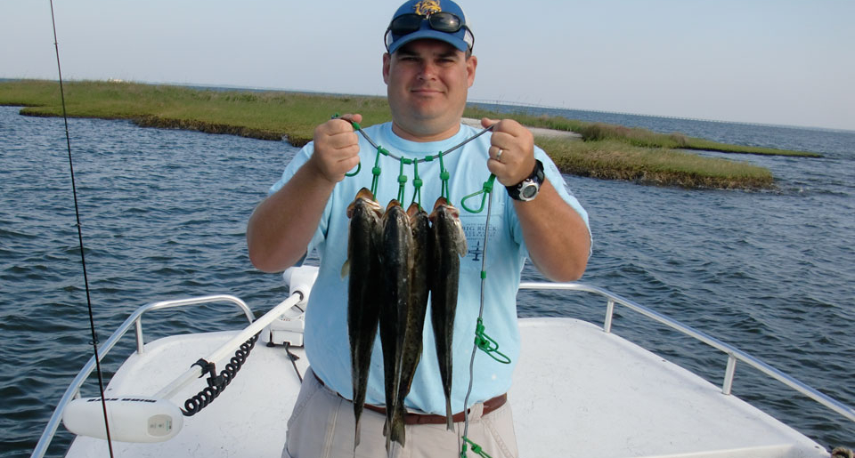 How to catch speckled trout soundside adventures for Trout fishing spots near me