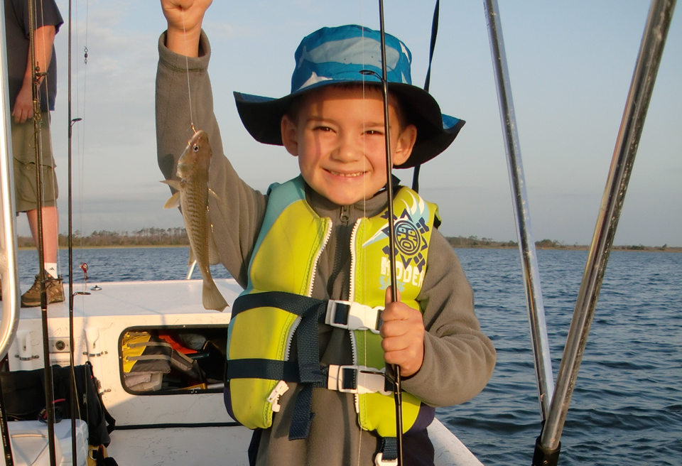 Kid's fishing charters
