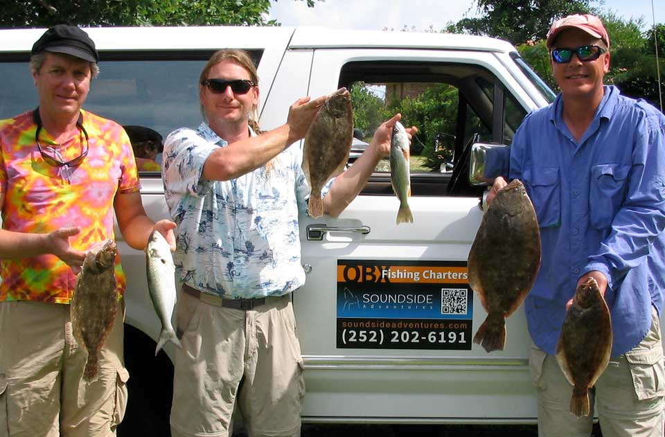 Summer flounder, Weakfish, and Bluefish