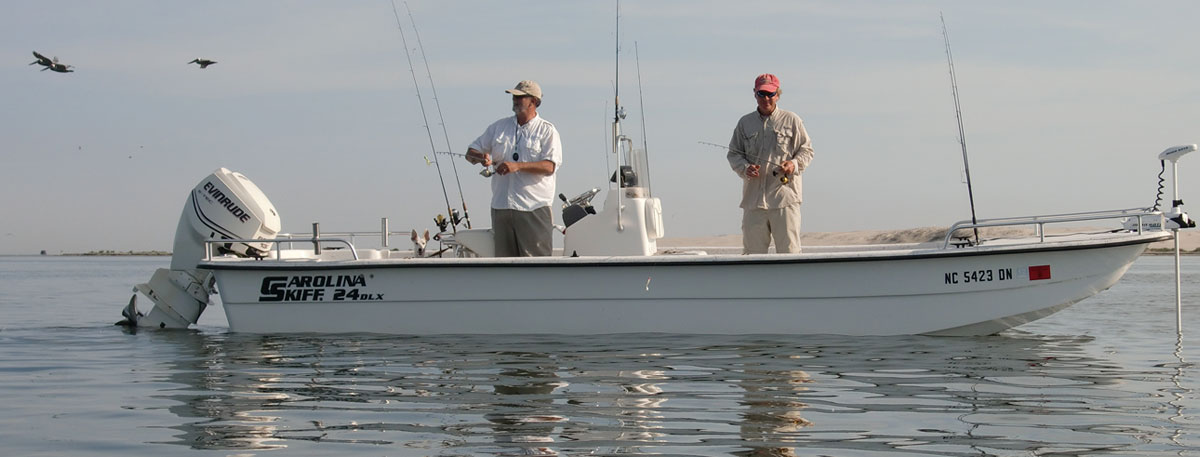 Outer banks fishing charters obx inshore charter fishing for Outer banks fishing charters