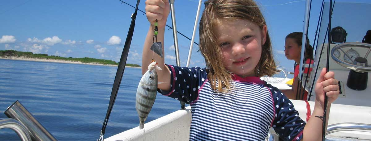 Outer Banks Kids Fishing Charters