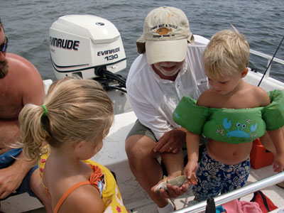 OBX family fishing charters